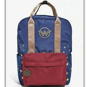 Wonder Woman Double Handle Backpack DC Comics